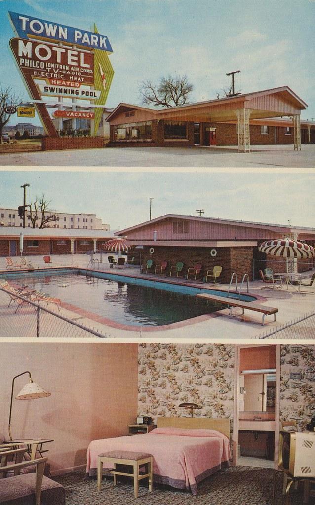 Town Park Motel - Oklahoma City, Oklahoma