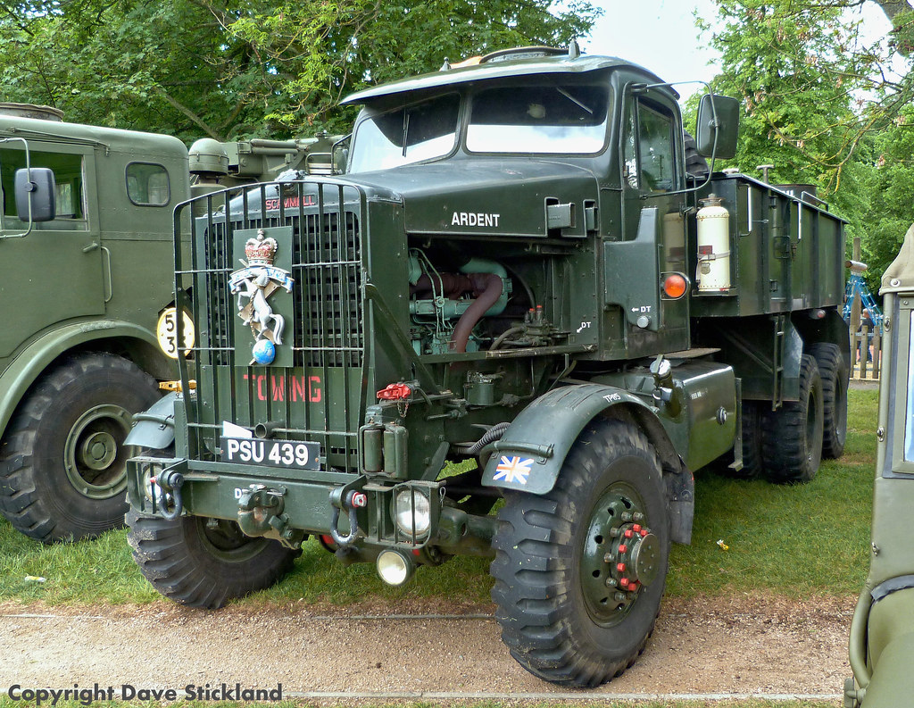 Land Rover New >> PSU 439 1955 Scammell Constructor 6x6 recovery tractor ex … | Flickr
