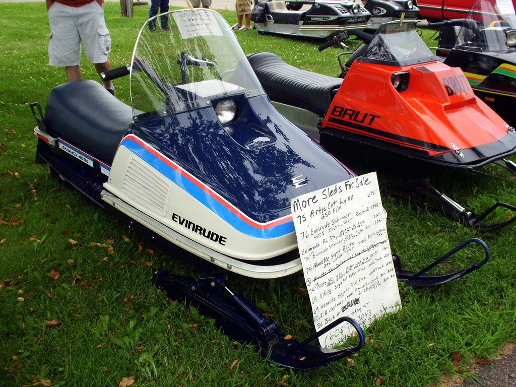 Snowmobiles sale evinrude Vintage for