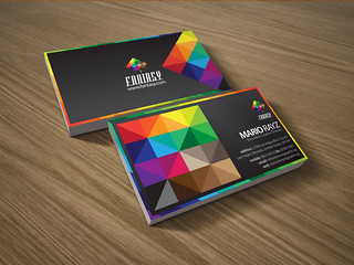 Fantasy corporate business card | by lemongraphic
