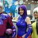 X-Men: Magneto, Psylocke cosplay by Panda Valentine & Rogue
