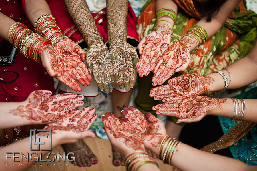 Mehndi Party : Henna hands at amir nasrine s wedding day lilburn me