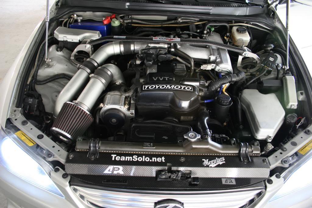 John Gabrielsen S Supercharged Is300 Italianlex Engine
