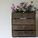 Vintage Wooden Fruit Crates
