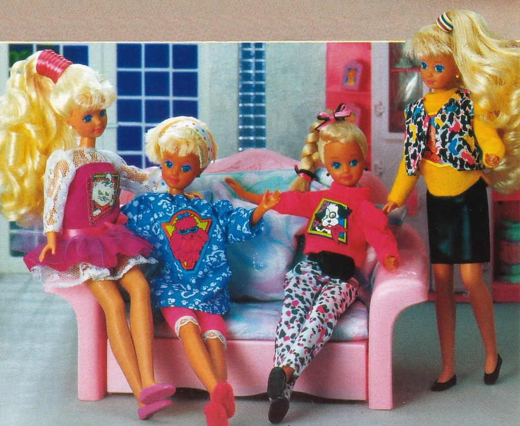 Barbie Journal 1992 Finnish Pet Clothes For Skipper Amp Co Flickr