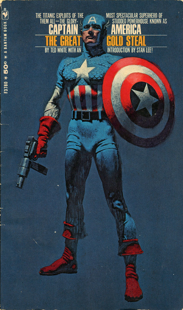 Captain America : The Great Gold Steal | Bantam Books 1968 ...