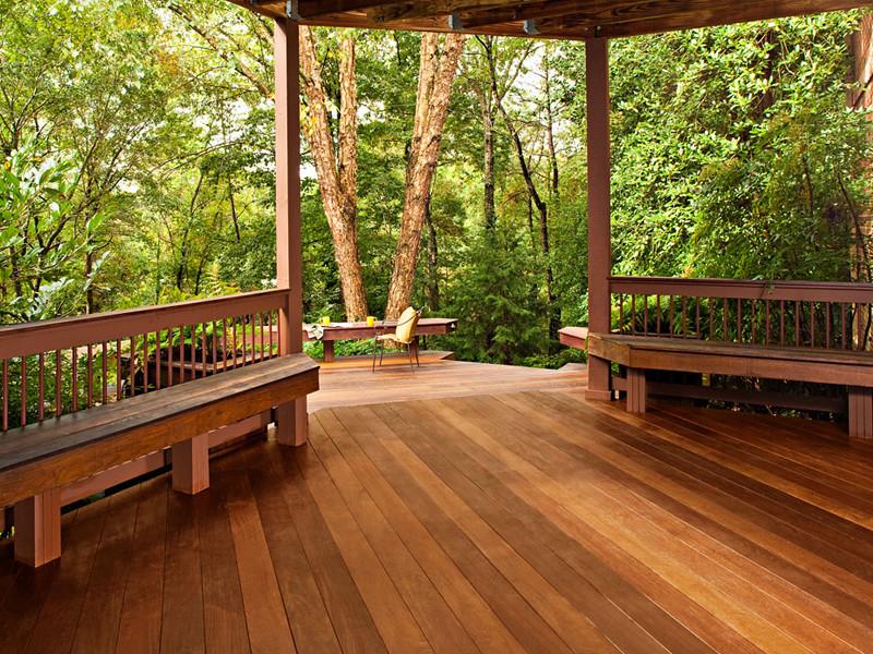Deck Deck Dp 534 Redwood Naturaltone Behr Paint Flickr