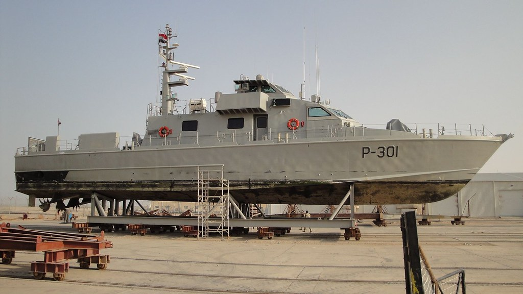 Swift Boat 301 dry docked 4 Aug 2011   Iraqi-owned and Ameri…   Flickr