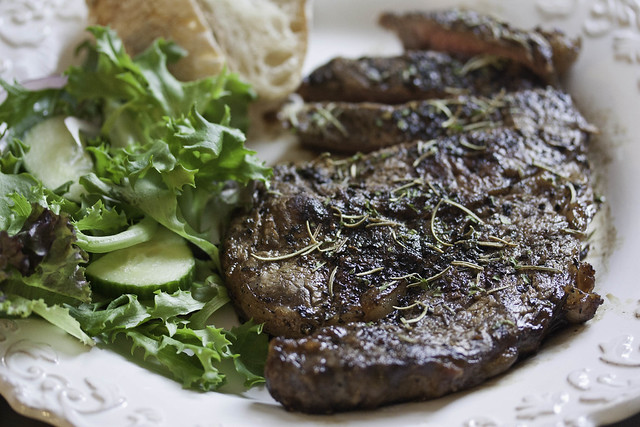 Grilled Garlic and Rosemary Steak | Flickr - Photo Sharing!
