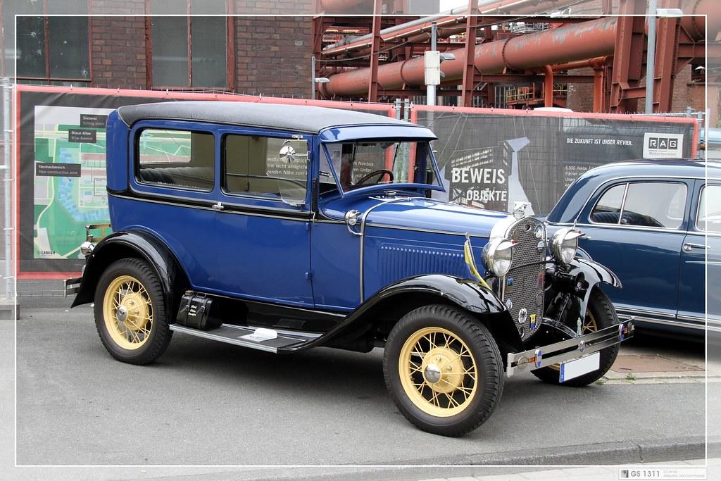1930 Ford Model A Tudor Sedan 01 The Ford Model A Of