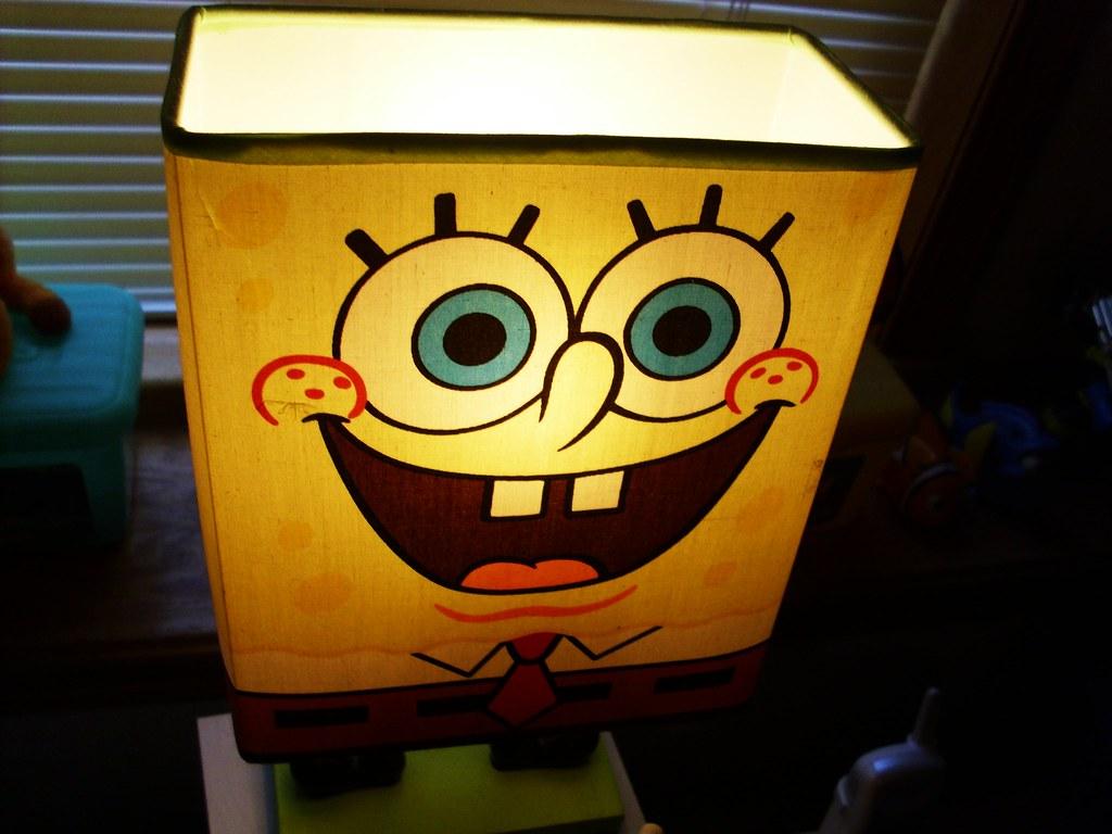 spongebob lamp | hoskibro | Flickr