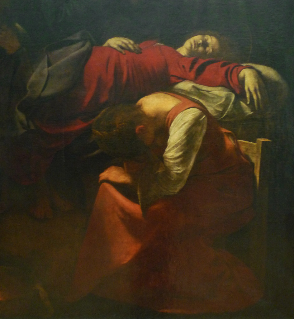 Death of the virgin caravaggio