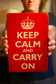 keep calm and carry on | by Ivana Rosario ·