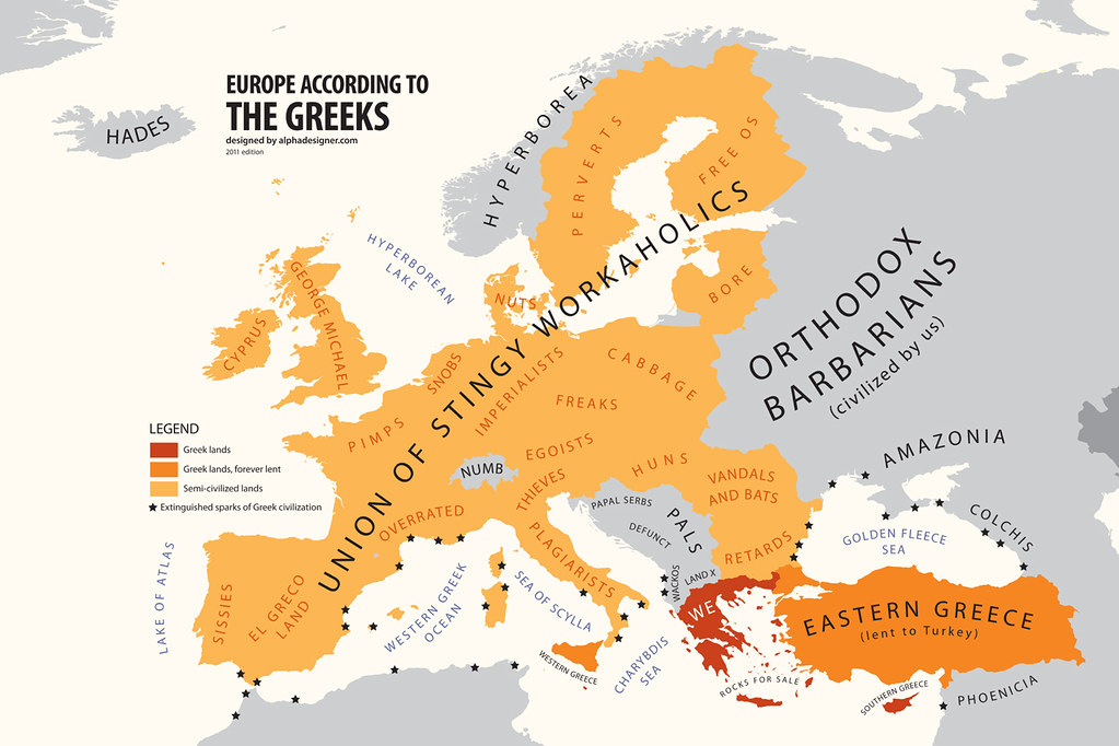 Europe according to greece produced by alphadesigners pol flickr europe according to greece by alphadesigner gumiabroncs Image collections