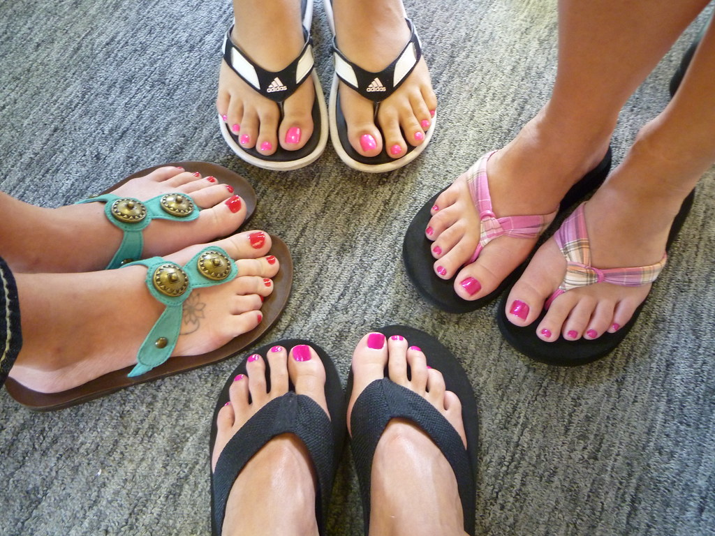 our pretty toes after our pedicure i ll follow the sun flickr