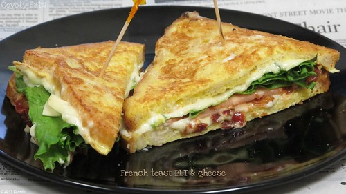 French toast BLT & cheese | by Coyoty