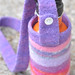 felted water bottle carriers :: for michelle