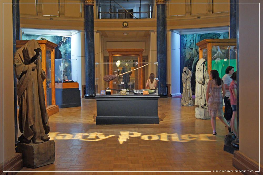 D Exhibition London : The establishing shot harry potter exhibition london f
