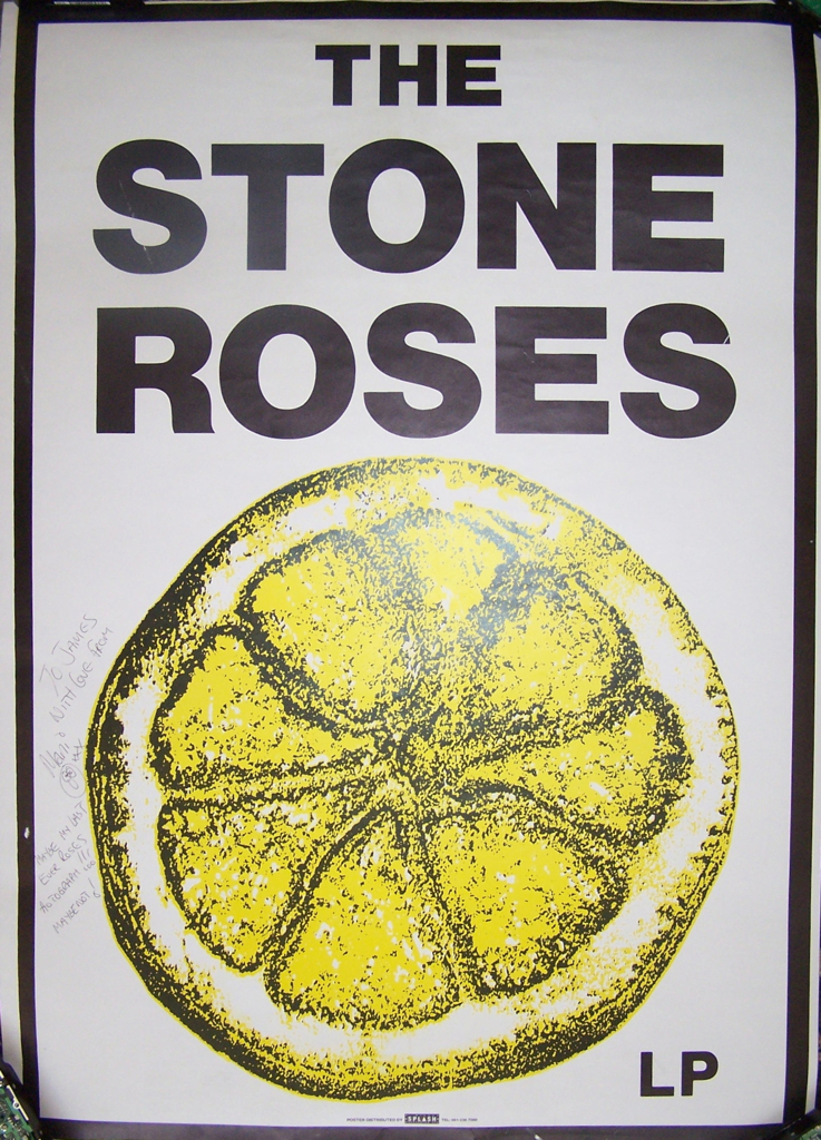 Rose Poster The Stone Roses Poster