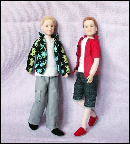 Custom Made Altered Art doll- Boy Only Hearts Club dolls | by T.T.'s (TrishsTreasures92)