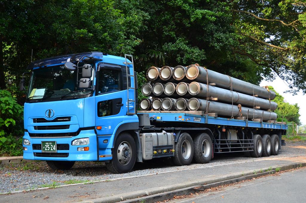 Blue Nissan Diesel Truck Brian G Kennedy Flickr