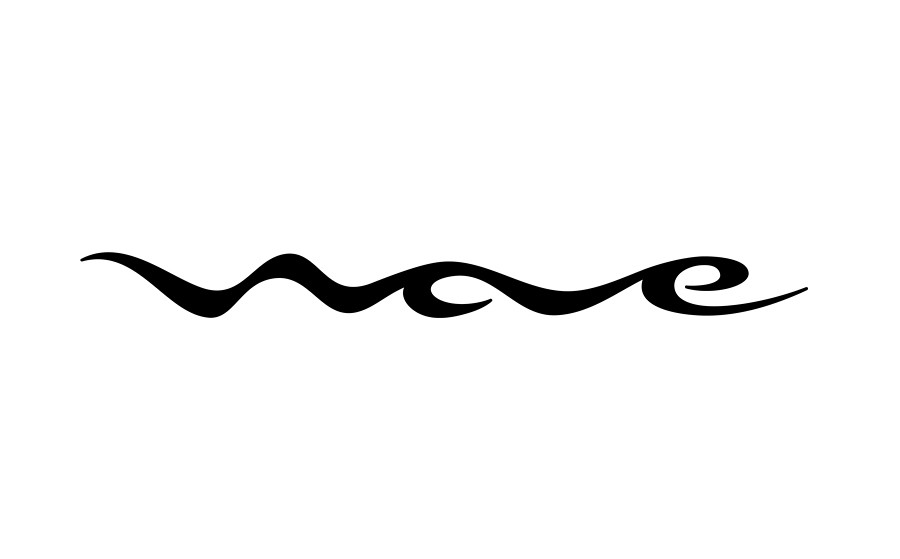 Logo Black And White Waves Wave-logo-black-on-white