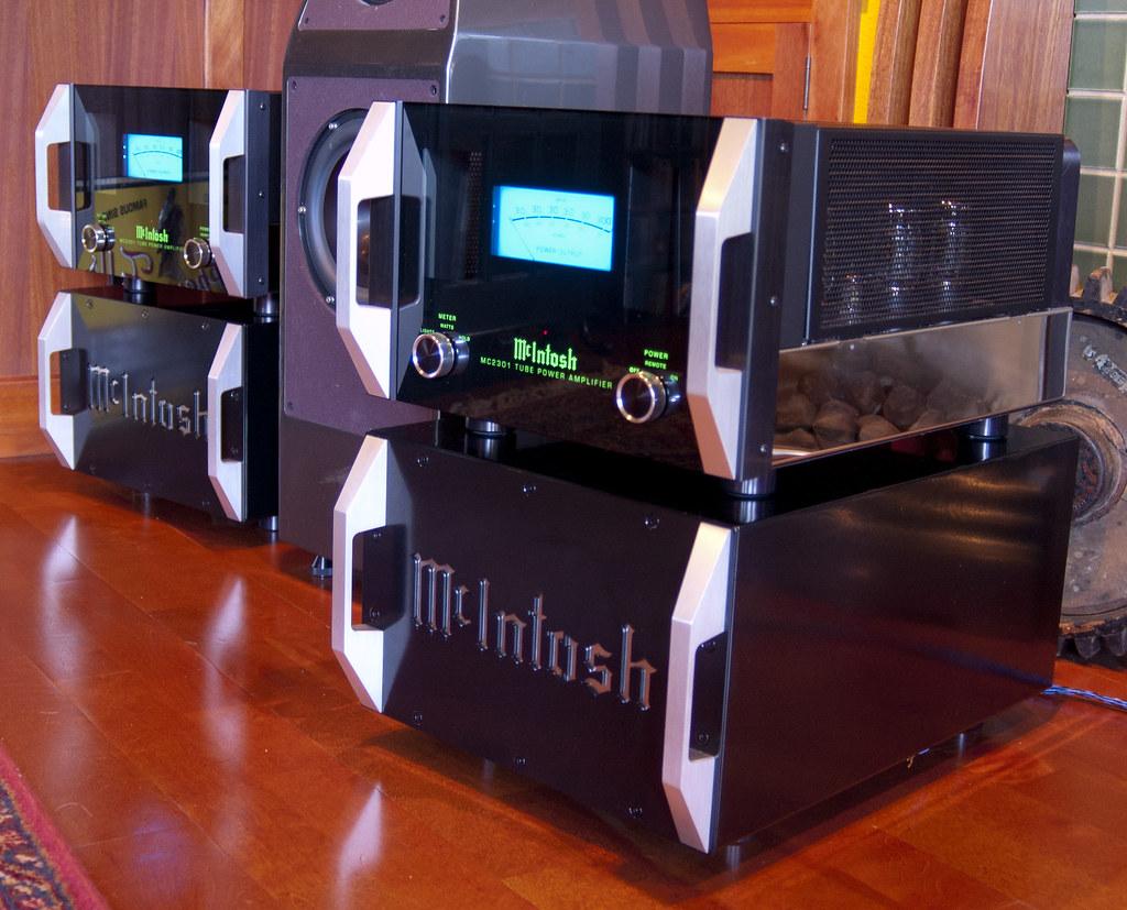 Custom Mcintosh Power Amplifier Stands These Audio Rack
