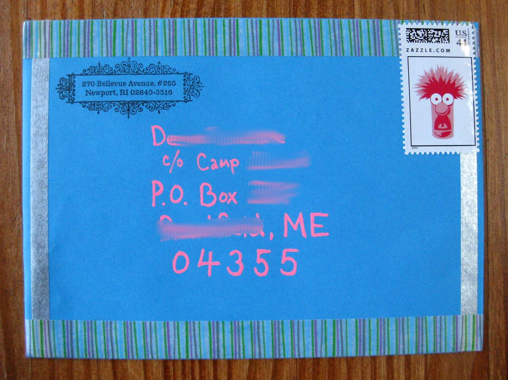 Bright birthday card address Blogged The bright pink ink i – How to Address a Birthday Card