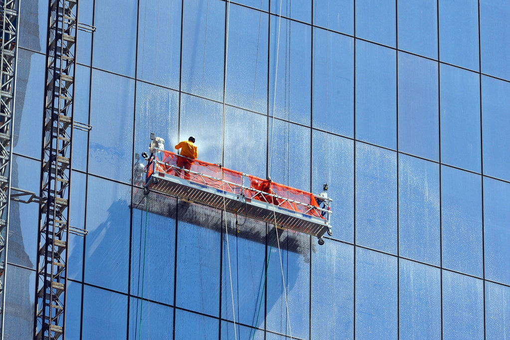 World Trade Center Air Cleaner : Wtc fredom tower window washers wisdom suggests that we