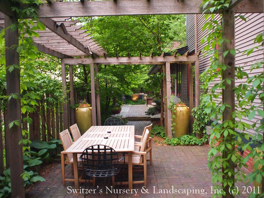 Outdoor Dinning Room Minnesota Landscape Design Inspired