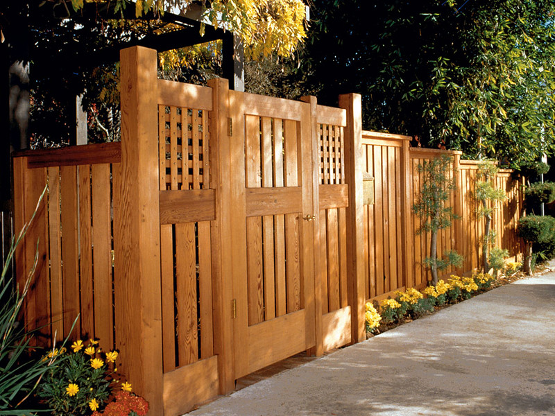 Fence Fence Dp 533 Cedar Naturaltone Behr Paint Flickr