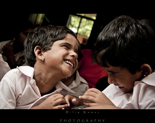 a hearty moment between a visually impared twins... | by KDilipkumar