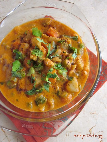 Vegetable Badami | by easycooking