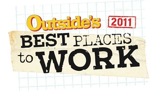 Outside's Best Places to Work Logo | by ClifBar&Co