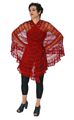 Andalusia as Hi Cut Poncho | by stitchdiva