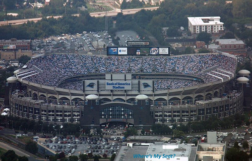 Bank of America Stadium | by Where's My Seat?