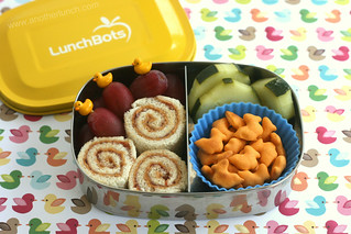 Chemo Duck bento in Lunchbots Pico | by anotherlunch.com