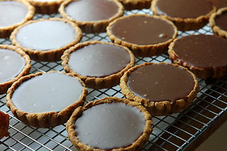 chocolate tarts | by David Lebovitz