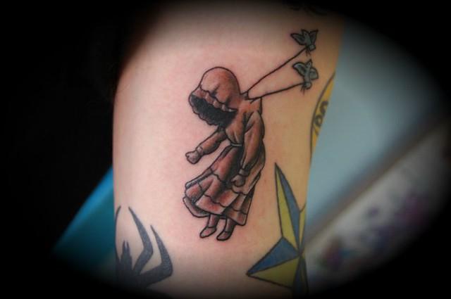ghost girl tattoo | Flickr - Photo Sharing!