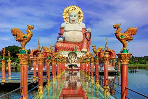 Buddhas Disneyland / Wat Plai Laem / Koh Samui (Island) /…  Flickr