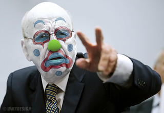 Rupert Murdoch :: Clown Arm of the NeoFascist Right Wing Corporatocracy | by WMxdesign