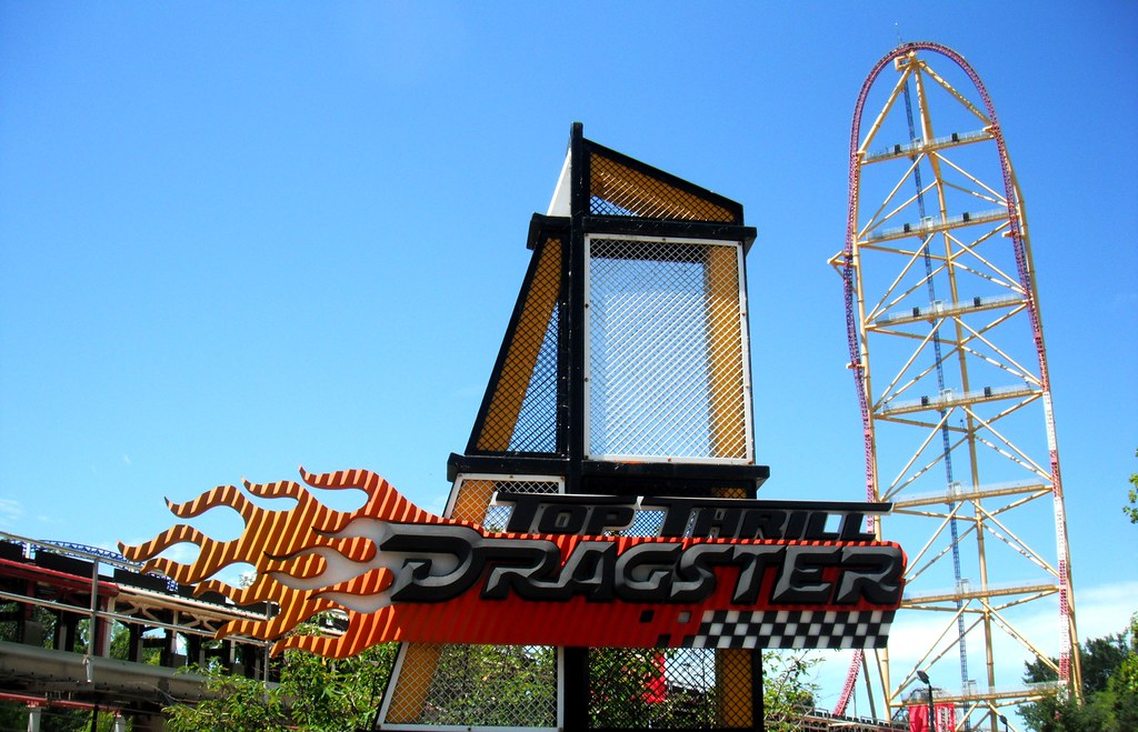 Top Thrill Dragster | Cedar Point, Sandusky, Ohio ...