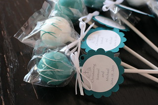Baptism Cake Pops | by Sweet Lauren Cakes