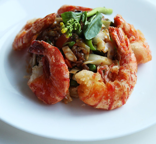 Stir-fried rice with shrimp | by maangchi