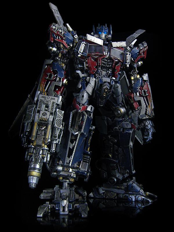 Dark Of The Moon Ultimate Optimus Prime Gun 6 Where