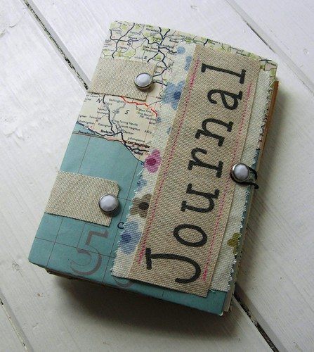 mixed media journal journal made with scraps and mixed med flickr. Black Bedroom Furniture Sets. Home Design Ideas