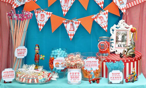 Circus Carnival Birthday Party Ideas Candy Bar 3 Amys Party Ideas