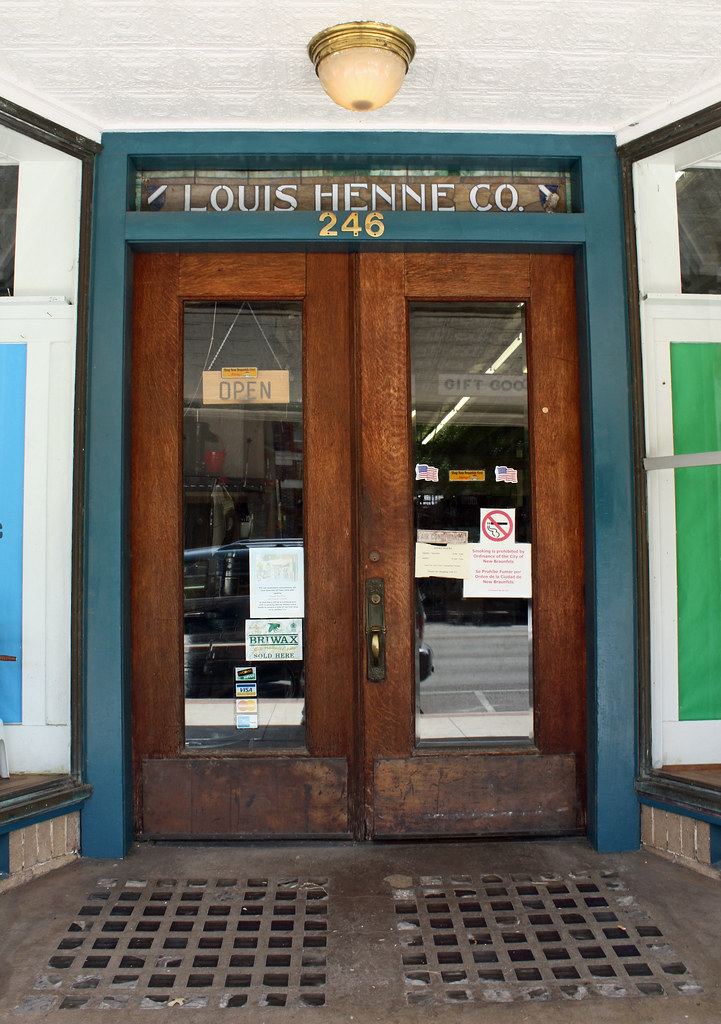 Hardware Store Doors Serving The Hill Country Since 1857 Flickr