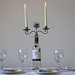 Wine Bottle Candle Holder | Wedding Table Decoration