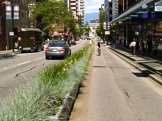 Downtown Vancouver Bike Lanes | by JeffaCubed
